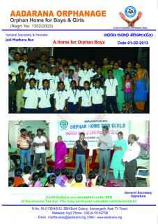 Aadarana - The Home for Orphaned and Needy Students