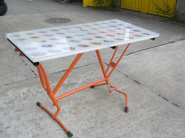 Upcycling Tisch ~ Netzkraft Movement